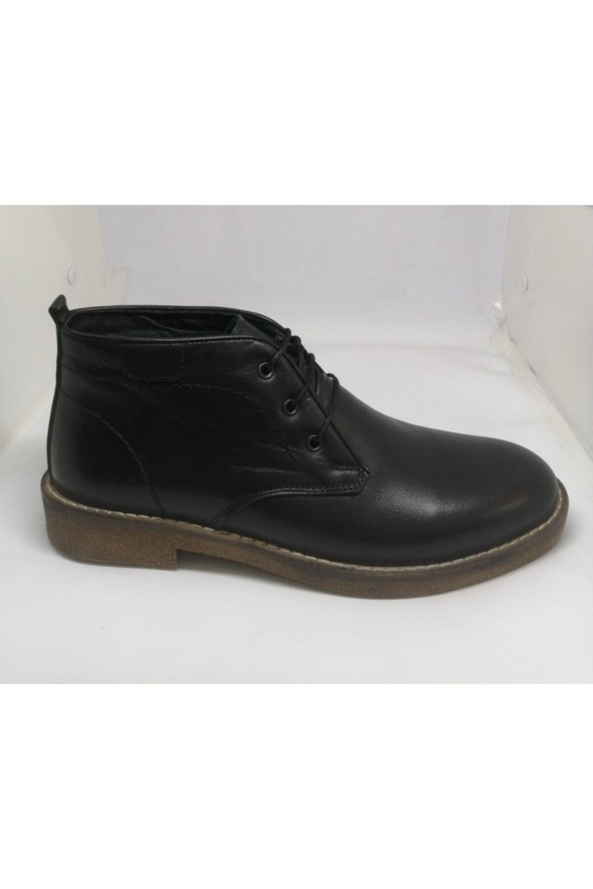 نیم بوت بلند برند Yılmaz Ayakkabı رنگ مشکی کد ty75307671