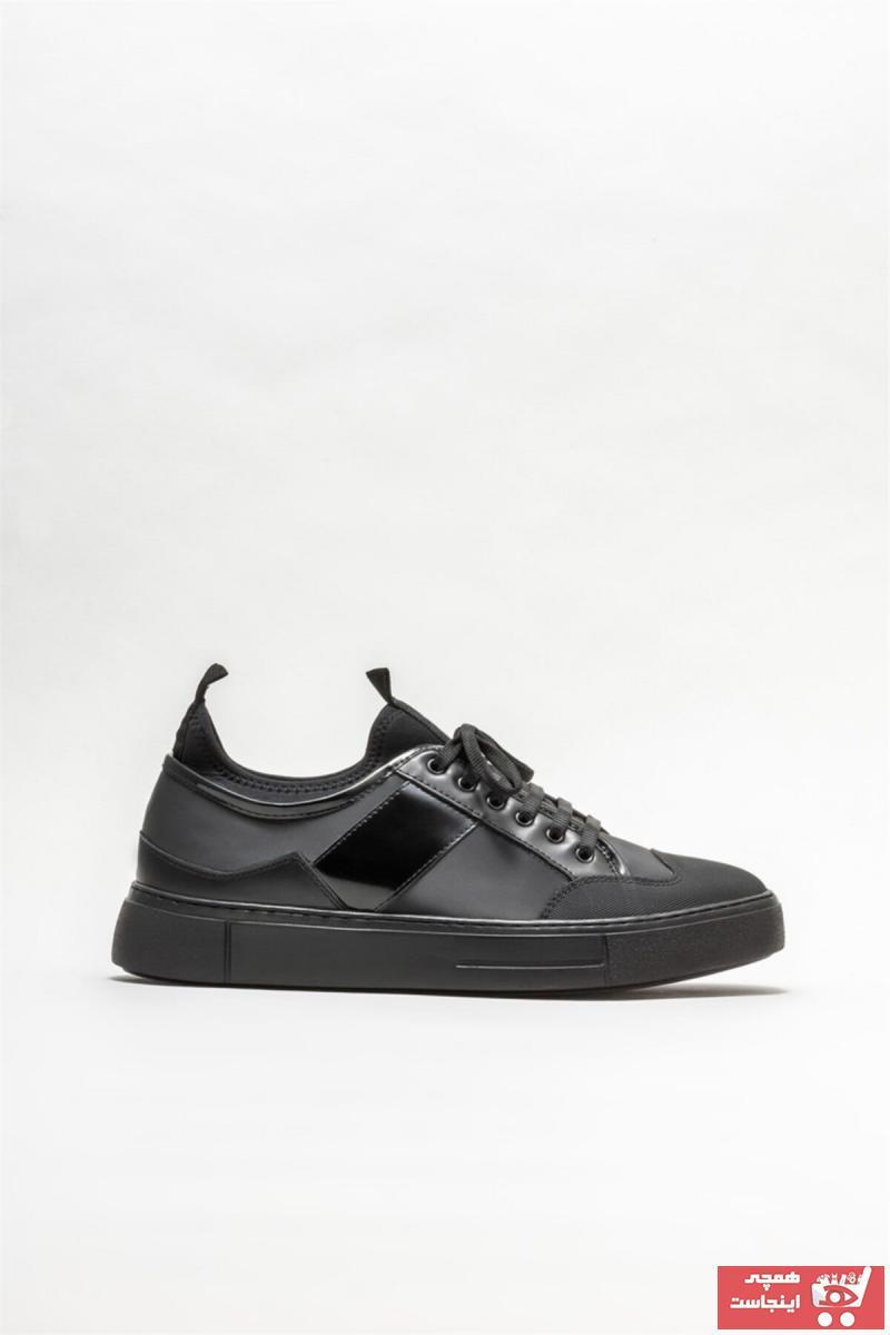 اسپرت مردانه شیک مجلسی برند Elle Shoes رنگ مشکی کد ty82845103