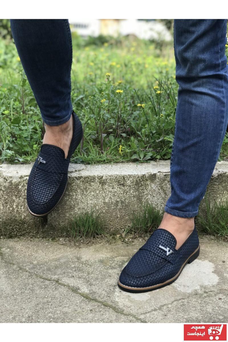 خرید نقدی کفش کلاسیک پاییزی مردانه برند MİASHOES رنگ لاجوردی کد ty84145585
