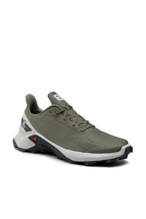 کفش کوهنوردی مردانه مجلسی برند Salomon رنگ خاکی کد ty87571545