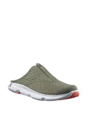 کفش کوهنوردی فانتزی مردانه برند Salomon رنگ خاکی کد ty87571552