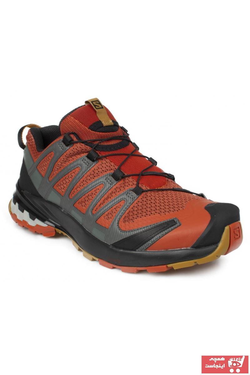 کفش کوهنوردی مردانه  برند Salomon رنگ نارنجی کد ty91662112