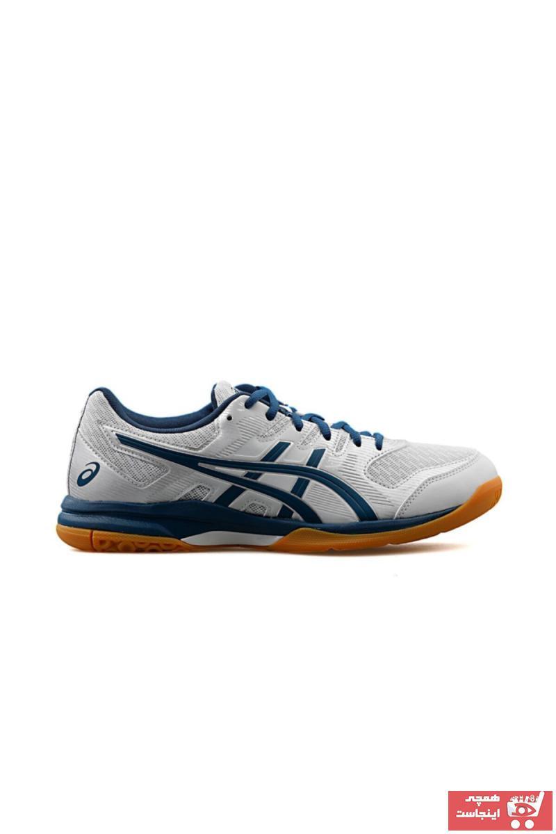 خرید اسان کفش والیبال مردانه فانتزی برند Asics رنگ نقره ای کد ty92668185