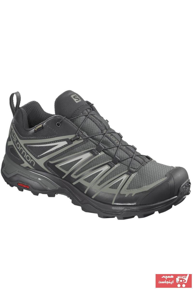 کفش کوهنوردی مردانه ساده برند Salomon رنگ مشکی کد ty92953331