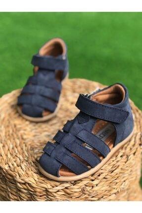 صندل نوزاد پسرانه مجلسی برند Surpie Shoes رنگ لاجوردی کد ty107051087