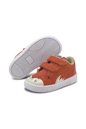 کفش اسپرت فانتزی نوزاد دخترانه برند Puma رنگ نقره ای کد ty111270528