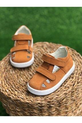 کفش پیاده روی ارزان نوزاد پسرانه برند Surpie Shoes رنگ قهوه ای کد ty112708360