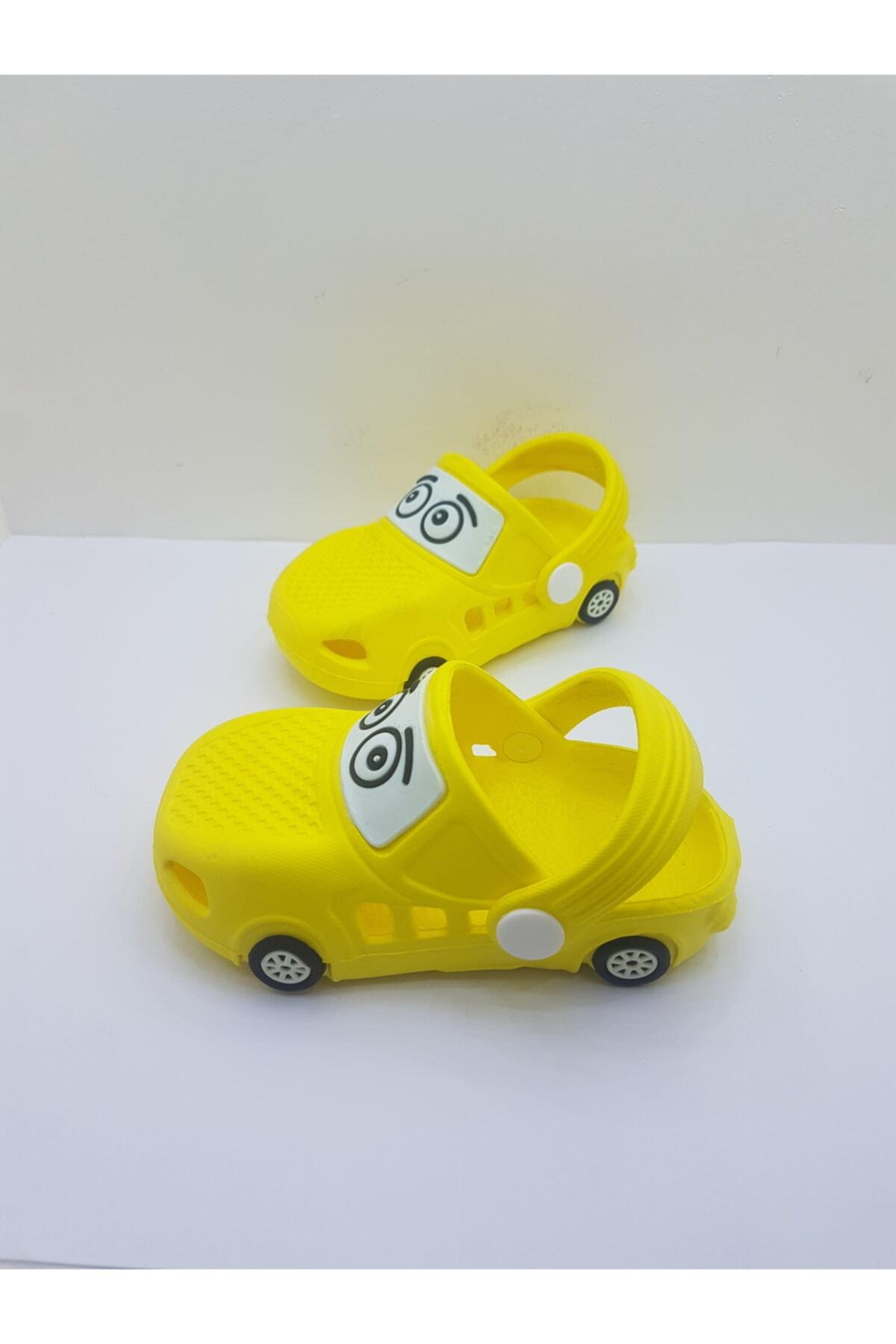 خرید پاصلی دمپایی نوزاد پسرانه پارچه ارزانی برند Akınal Bella رنگ زرد ty114787253