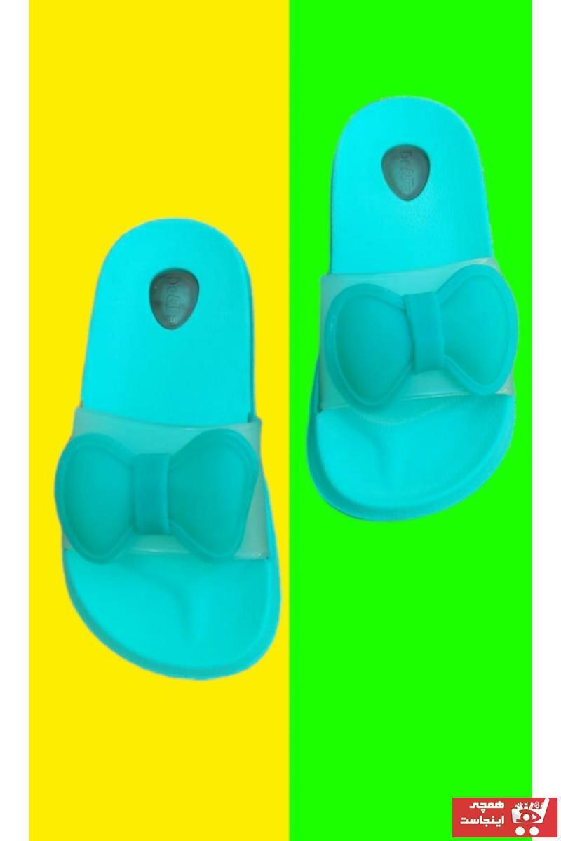 خرید انلاین دمپایی جدید نوزاد پسرانه شیک برند GEZER رنگ سبز کد ty118394224