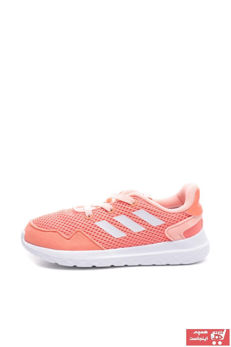 سفارش انلاین کفش پیاده روی نوزاد دخترانه ساده برند adidas رنگ نارنجی کد ty32587570