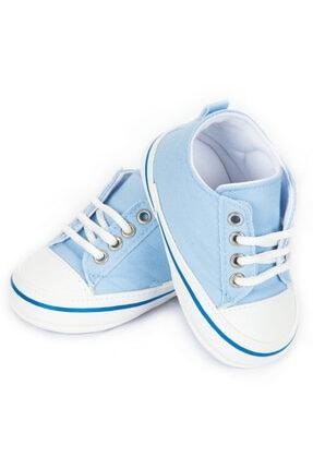 فروش کفش اسپرت نوزاد دخترانه ترک مجلسی برند Papulin رنگ آبی کد ty44201214
