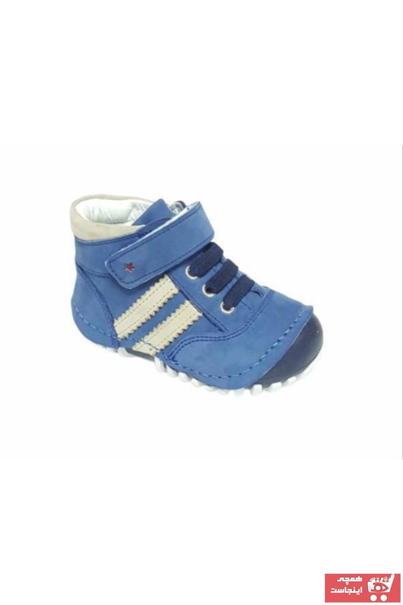 خرید اینترنتی بوت نوزاد پسرانه فانتزی برند Sanbe رنگ آبی کد ty63044769