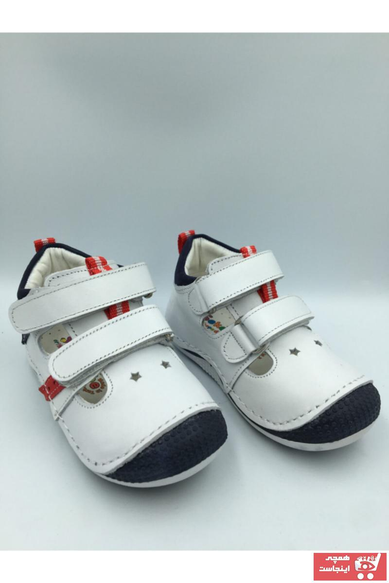 خرید اسان کفش تخت نوزاد پسرانه زیبا برند Anca کد ty66227143