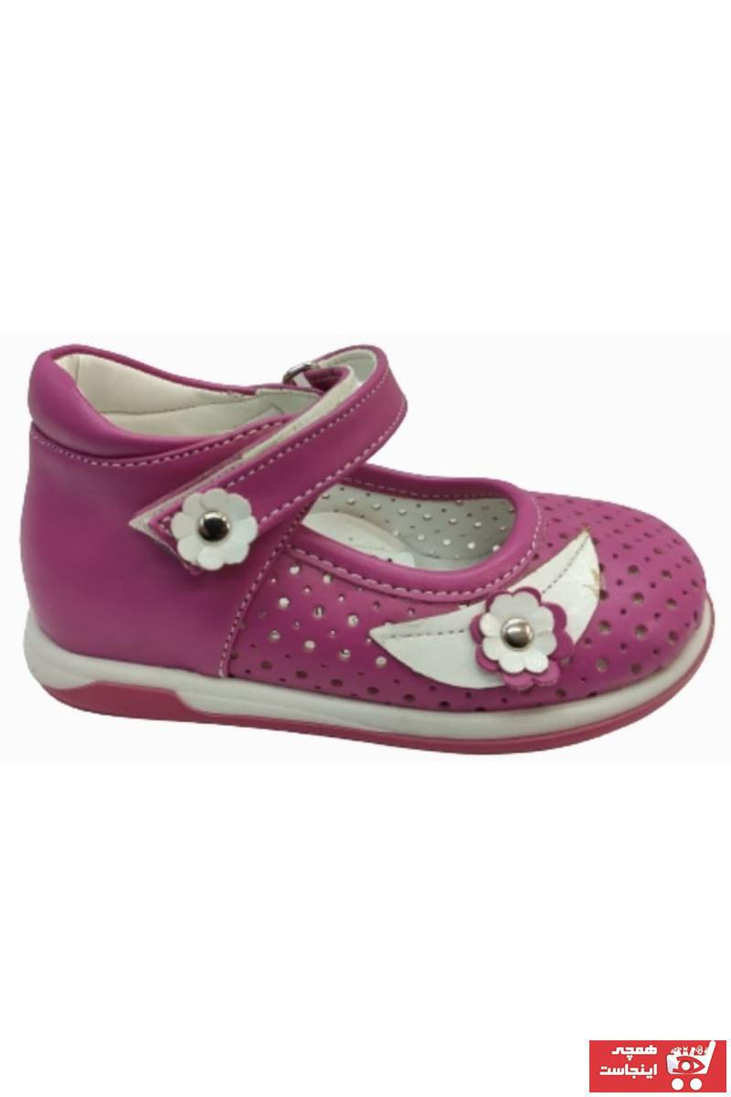خرید نقدی کفش تخت نوزاد پسر ترک  برند KOCAMANLAR رنگ صورتی ty81041695