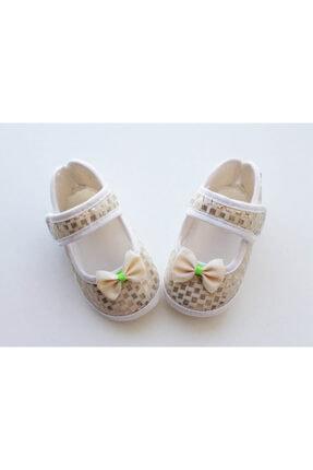 کفش پیاده روی نوزاد دخترانه حراجی برند Puppis Baby رنگ بژ کد ty90092671