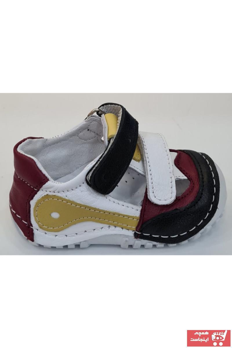 کفش تخت جدید نوزاد پسر شیک برند Pappikids کد ty98079514