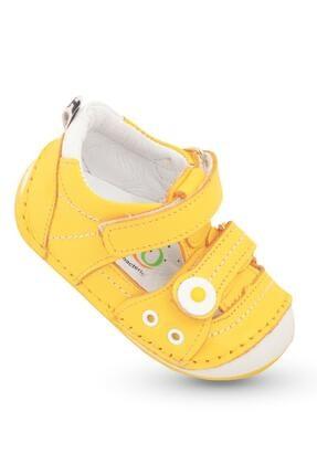 خرید اینترنتی کفش پیاده روی کفش پیاده روی نوزاد پسرانه برند KAPTAN JUNIOR رنگ زرد ty98521984