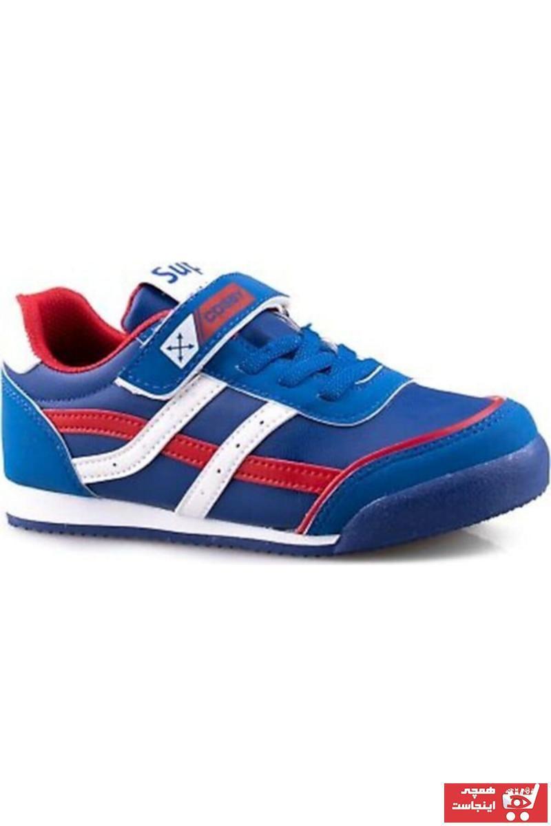 فروشگاه کفش اسپرت بچه گانه پسرانه برند Cosby رنگ لاجوردی کد ty114856451