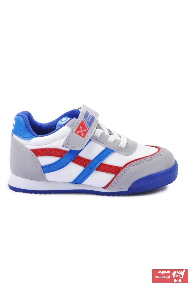 فروش  کفش اسپرت بچه گانه پسرانه ترک برند Cosby کد ty114890491