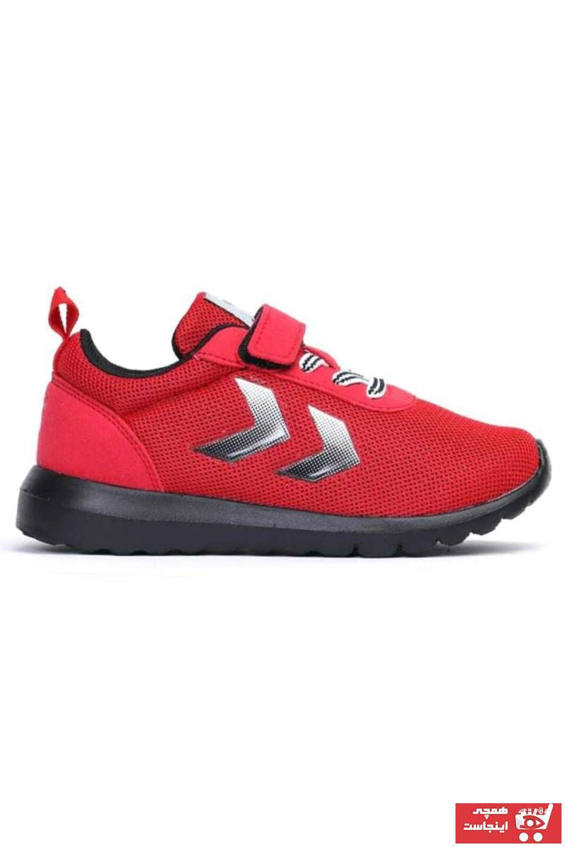 خرید  کفش اسپرت شیک بچه گانه پسرانه برند هومل رنگ قرمز ty48131551