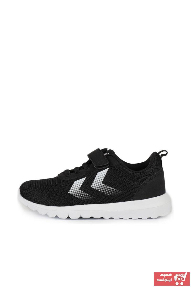 کفش اسپرت بچه گانه پسرانه نگیندار برند  HUMMEL  رنگ مشکی کد ty6069051