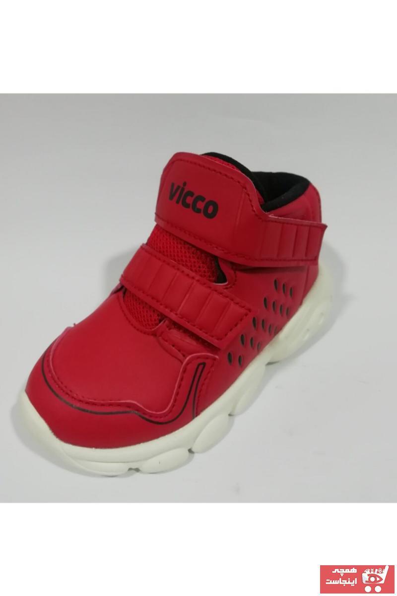 نیم بوت فانتزی بچه گانه پسرانه برند Vicco رنگ قرمز ty63068146
