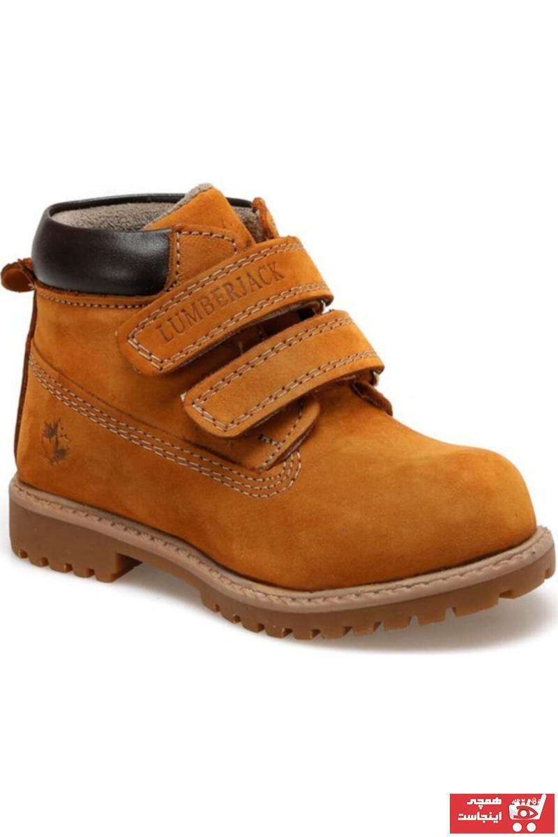 خرید انلاین نیم بوت بچه گانه پسرانه فانتزی برند lumberjack رنگ زرد ty82964557