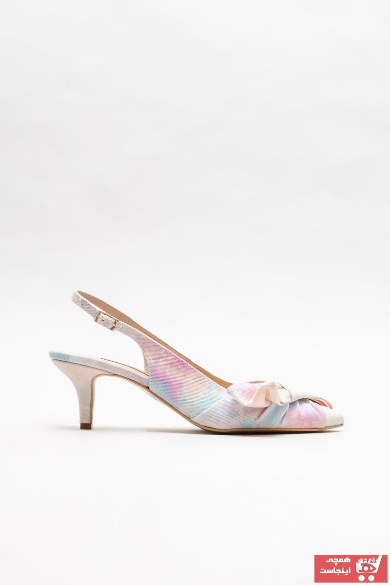 خرید اینترنتی پاشنه بلند خاص زنانه برند Elle Shoes رنگ صورتی ty102887863