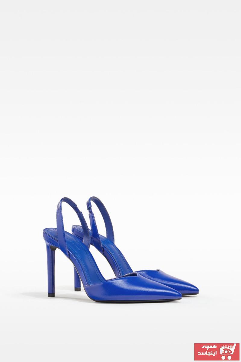 پاشنه بلند جدید زنانه شیک مارک برشکا رنگ آبی کد ty103035875