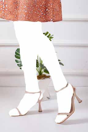 خرید پاشنه بلند زنانه شیک برند Mitto رنگ بژ کد ty107140173