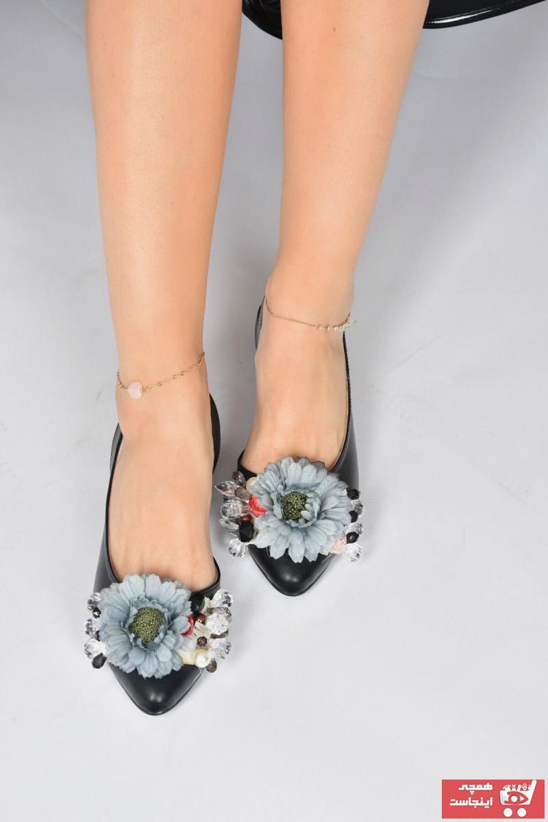 کفش بابت زنانه ترک برند Fox Shoes رنگ مشکی کد ty108418590