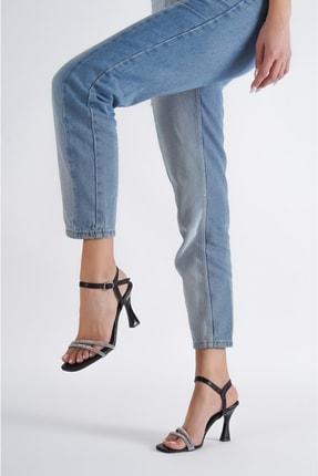 خرید انلاین کفش پاشنه بلند مجلسی طرح دار برند DAYS Ayakkabı رنگ مشکی کد ty117617884