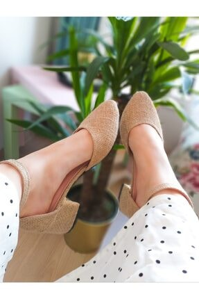 کفش پاشنه بلند 2021 زنانه برند markabizden رنگ بژ کد ty117665533