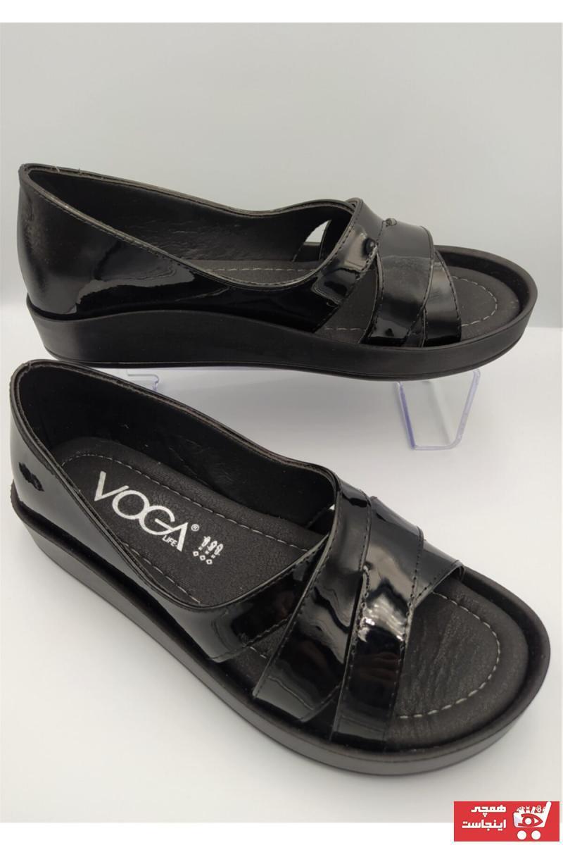 خرید انلاین صندل دخترانه ترکیه برند Voga رنگ مشکی کد ty117983932