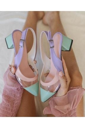 فروش اینترنتی پاشنه بلند زنانه با قیمت برند Parparastil رنگ صورتی ty118730301