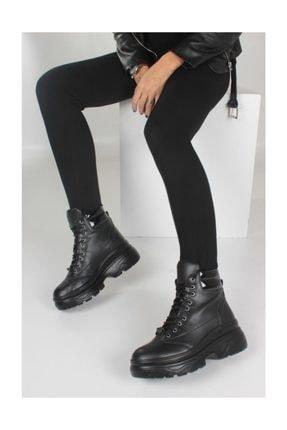 بوت دخترانه شیک و جدید برند İnan Ayakkabı رنگ مشکی کد ty33934588