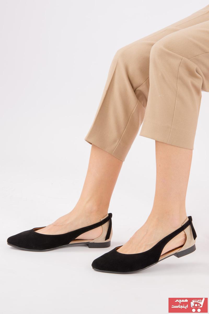 خرید نقدی کفش بابت زنانه فروشگاه اینترنتی برند Fox Shoes رنگ مشکی کد ty36432254