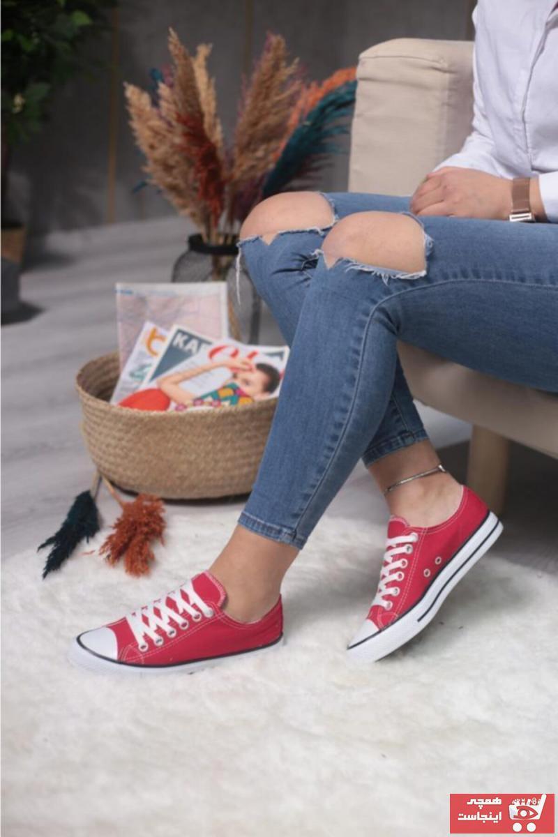 خرید اسپرت زنانه شیک برند ESPARDİLE رنگ قرمز ty36873180