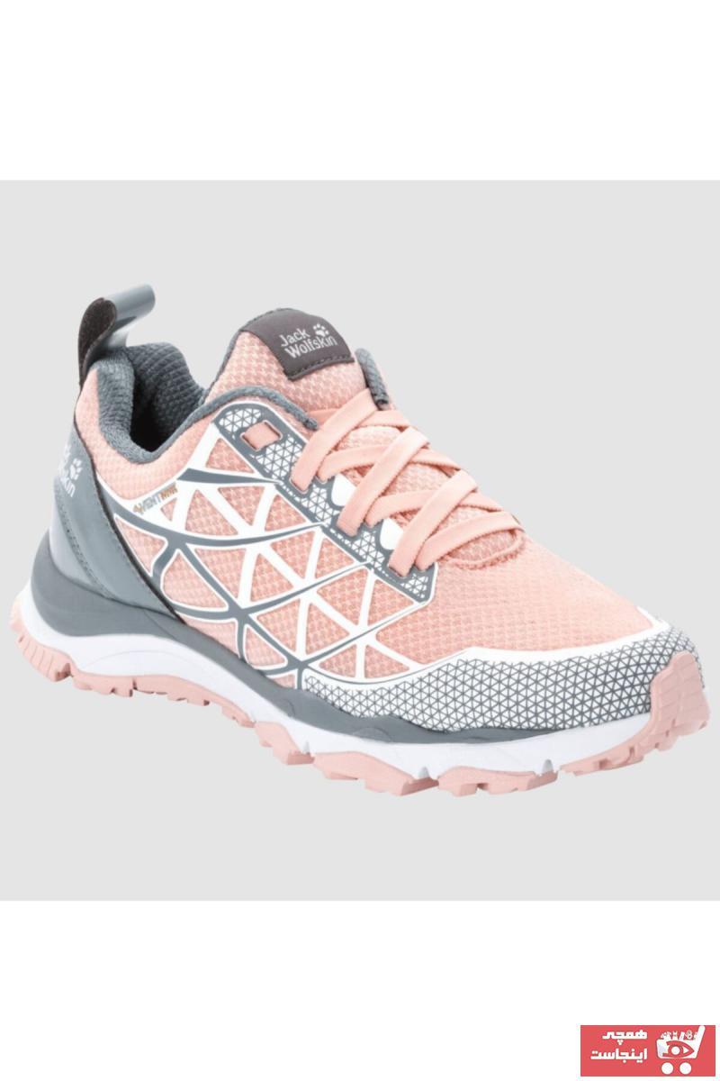 کفش کوهنوردی زنانه ساده برند Jack Wolfskin رنگ طلایی ty40064982