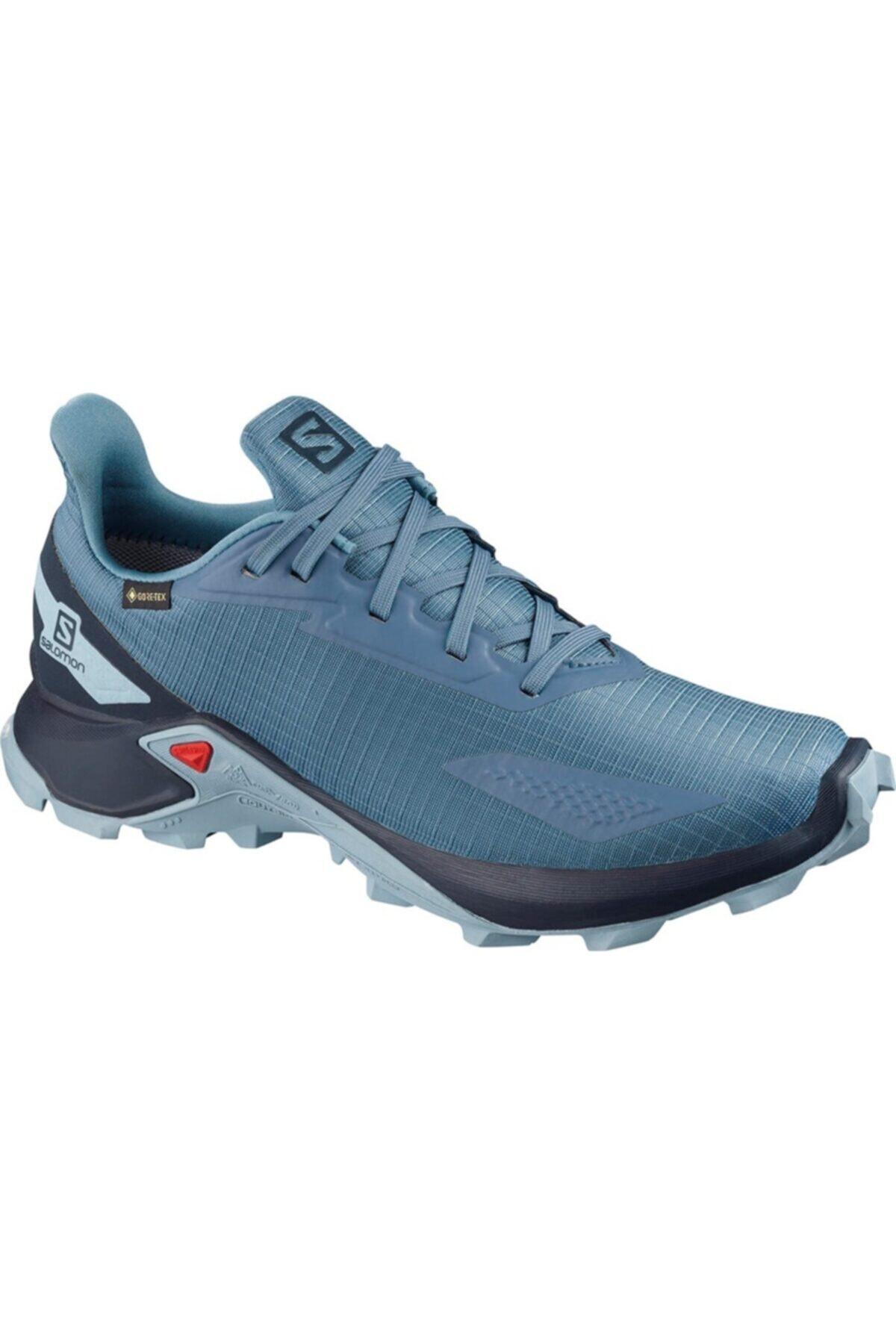 خرید اینترنتی کفش کوهنوردی خاص برند Salomon رنگ آبی کد ty47749718