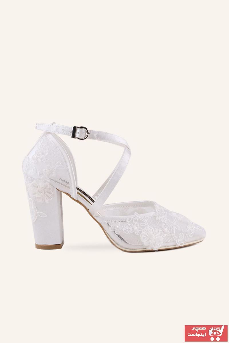 خرید انلاین کفش پاشنه بلند مجلسی زنانه ترکیه برند MARCATELLI کد ty58623920