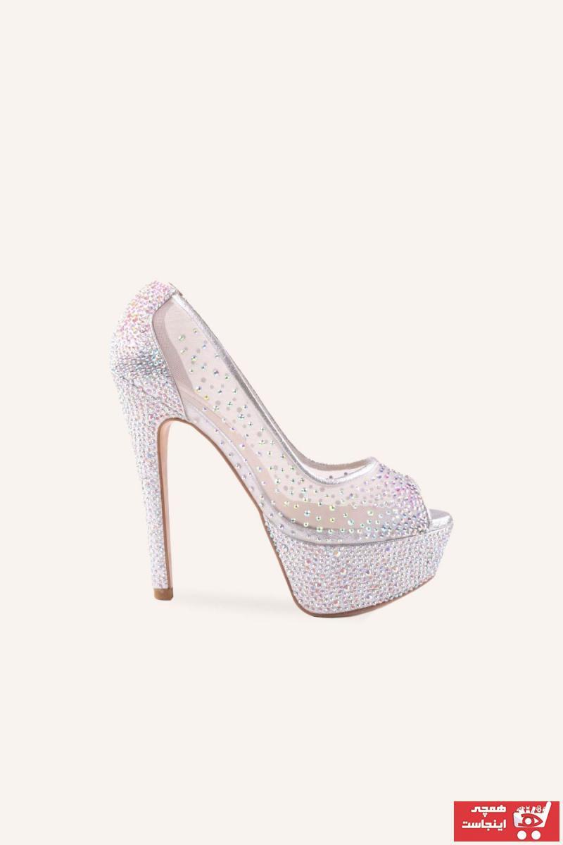 فروش کفش پاشنه بلند مجلسی زنانه خفن برند MARCATELLI رنگ نقره کد ty61909850