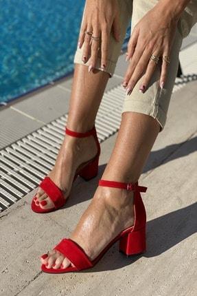 سفارش پاشنه بلند ترک زنانه برند İnan Ayakkabı رنگ قرمز ty81750122
