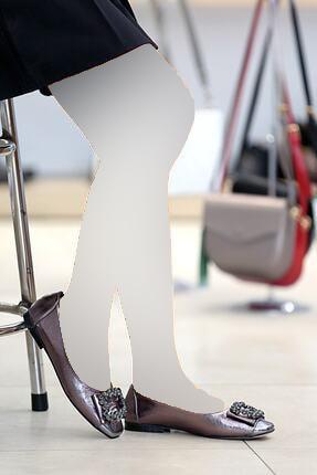 خرید پستی کفش روزمره زنانه جدید مارک پیرکاردن کد رنگ نقره ای ty84777791