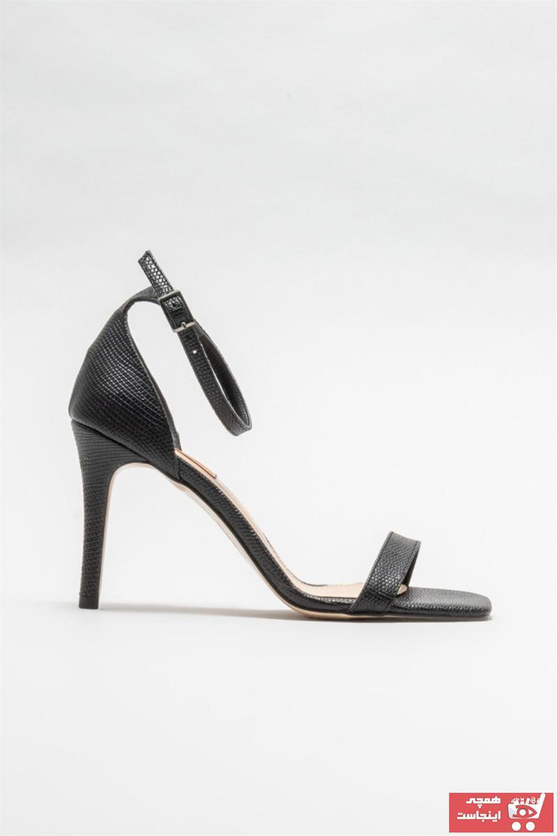 خرید ارزان پاشنه بلند زنانه اسپرت برند Elle Shoes رنگ مشکی کد ty84807287