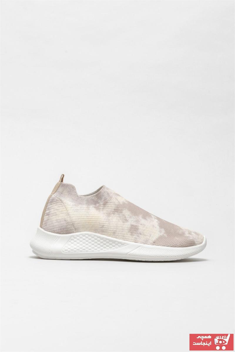 خرید پستی اسپرت زیبا زنانه برند Elle Shoes رنگ بژ کد ty84843489