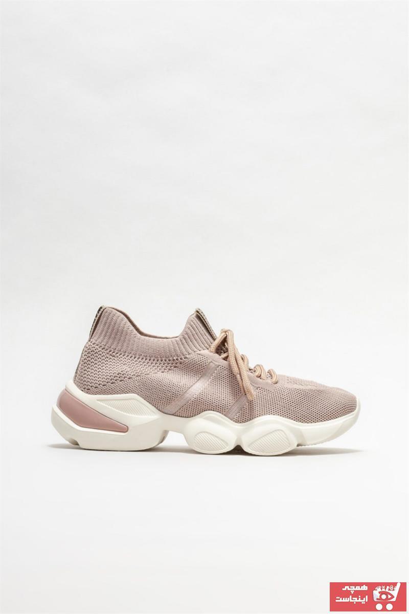 اسپرت زنانه ارزان قیمت برند Elle Shoes رنگ صورتی ty85557107