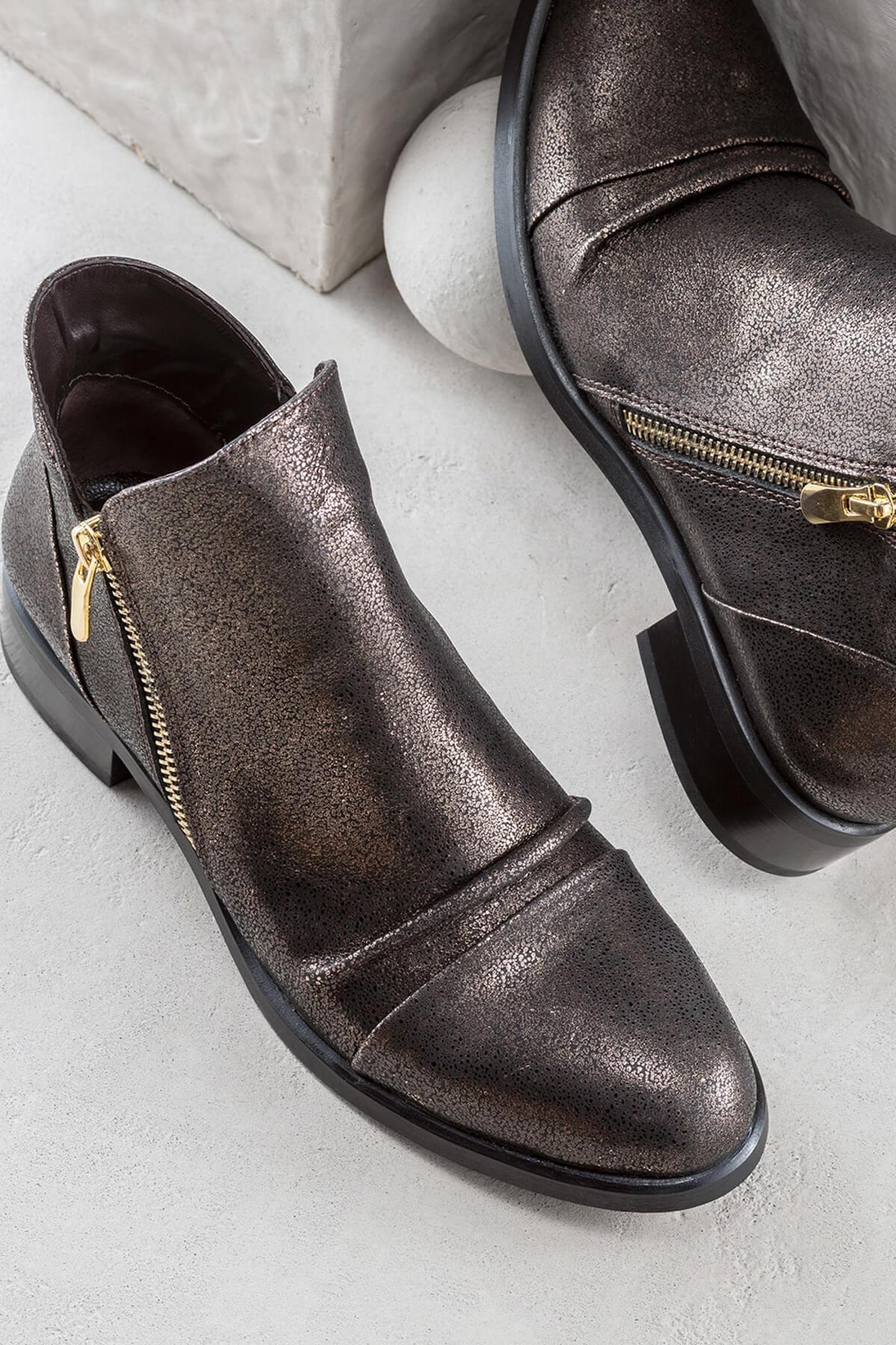 فروش بوت جدید برند Elle Shoes رنگ مشکی کد ty857547