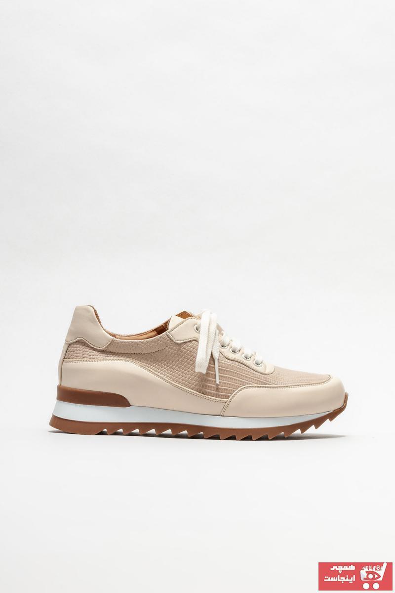 خرید نقدی اسپرت زنانه فروشگاه اینترنتی برند Elle Shoes رنگ بژ کد ty95168159