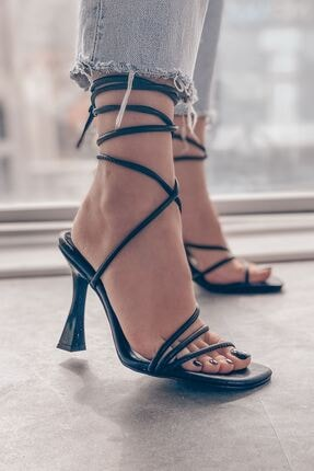 خرید نقدی پاشنه بلند زنانه ترک  برند I Love Shoes رنگ مشکی کد ty96063579